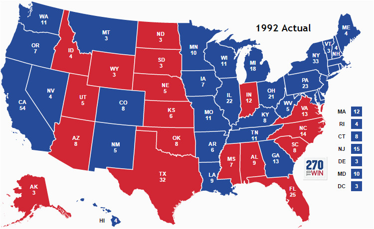 presidential election of 1992