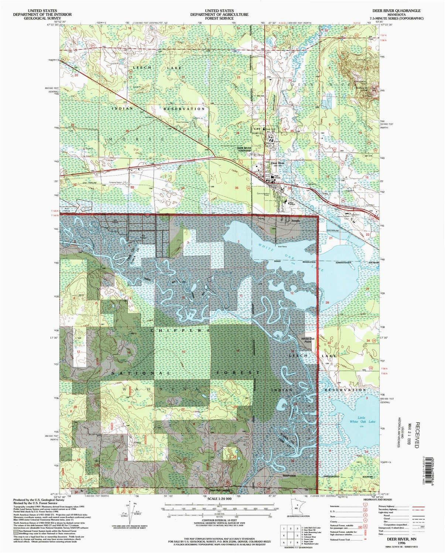 amazon com yellowmaps deer river mn topo map 1 24000 scale 7 5 x