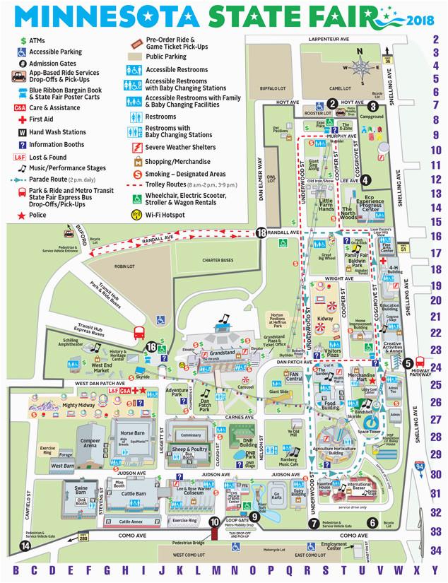 maps minnesota state fair