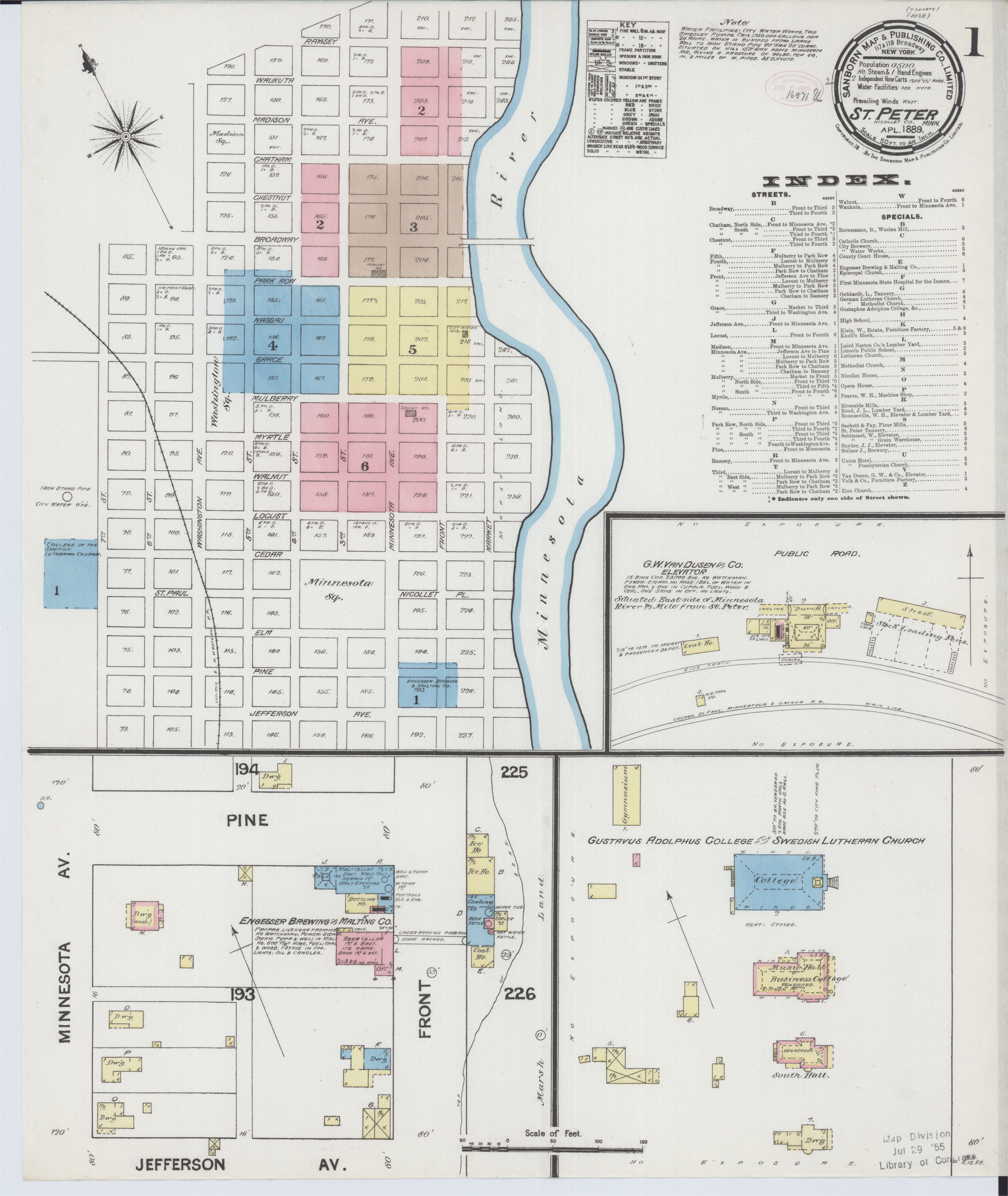 file sanborn fire insurance map from saint peter nicollet county
