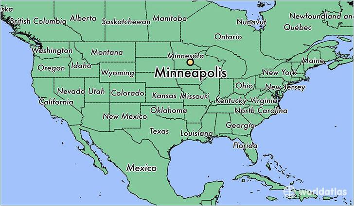 where is minneapolis mn minneapolis minnesota map worldatlas com