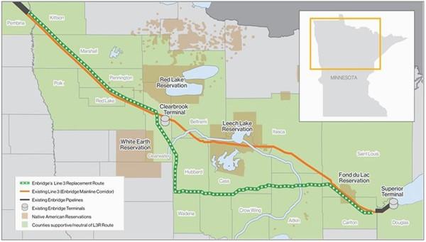 line 3 replacement project enbridge inc