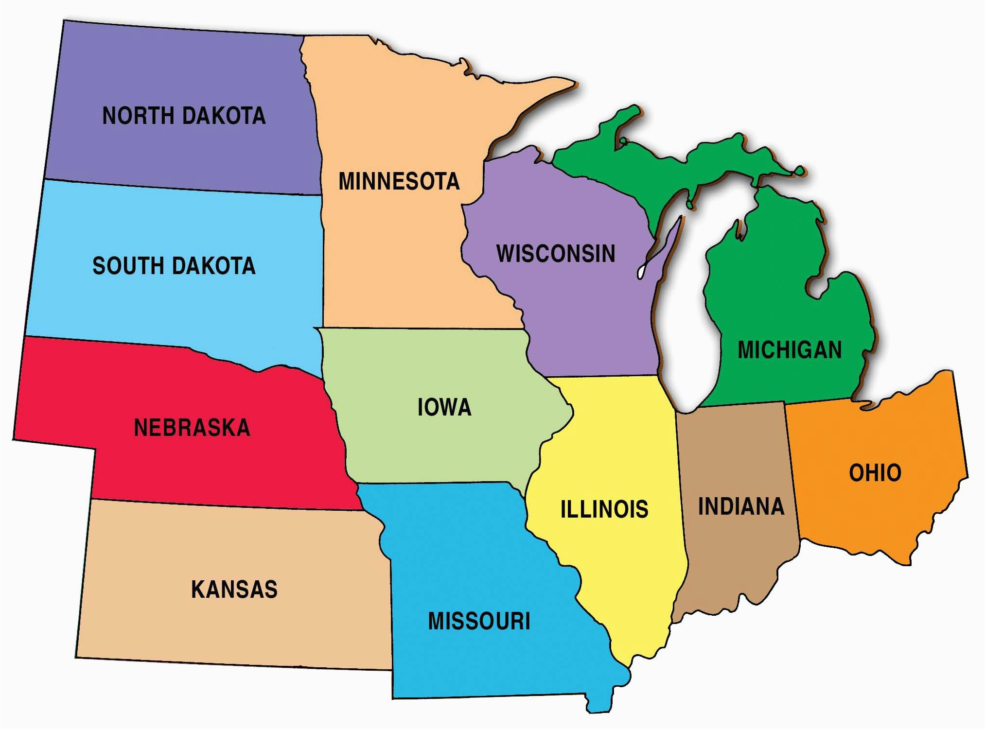 map of usa west region capitalsource us
