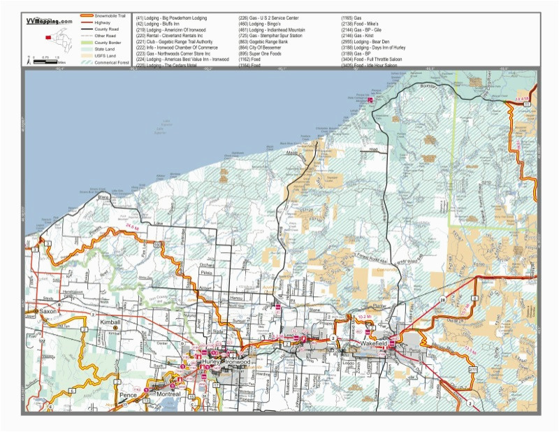 gogebic range trail authority snowmobile orv club