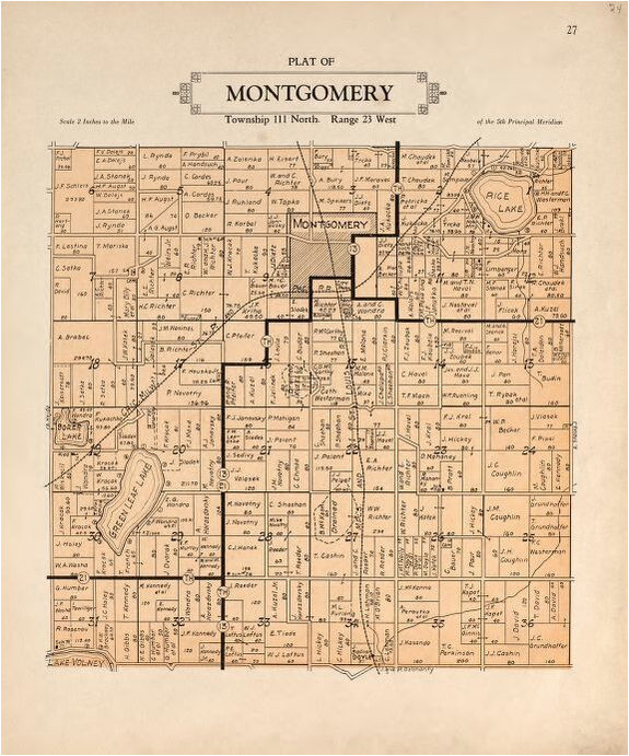 map plat book of le sueur county minnesota showing township