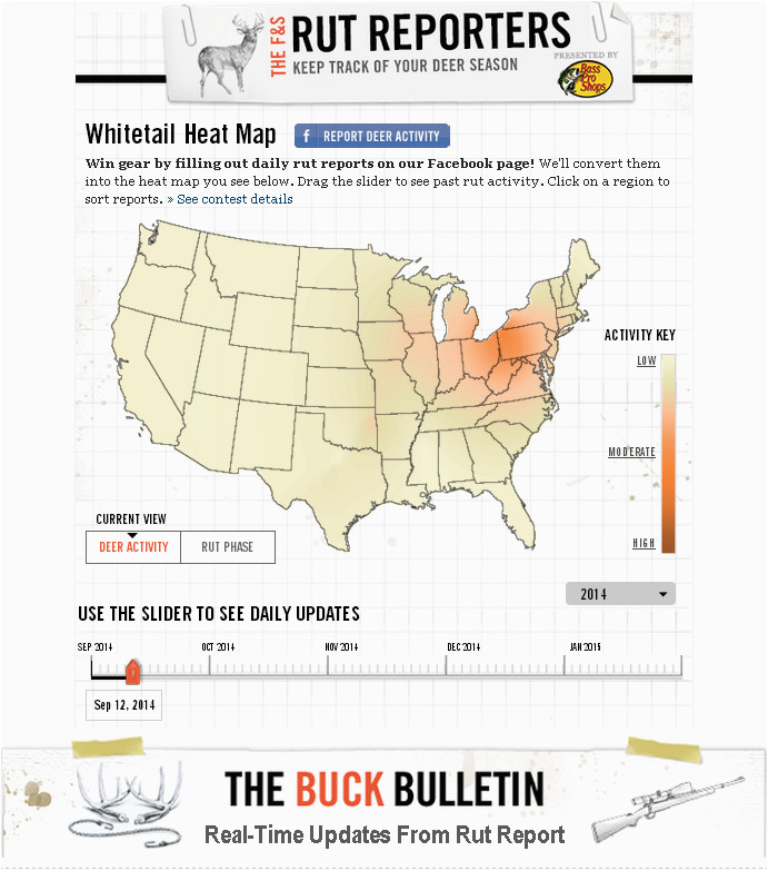 Rut Heat Map Minnesota Turkey Hunting Map Check Out the Field Stream Rut Heat