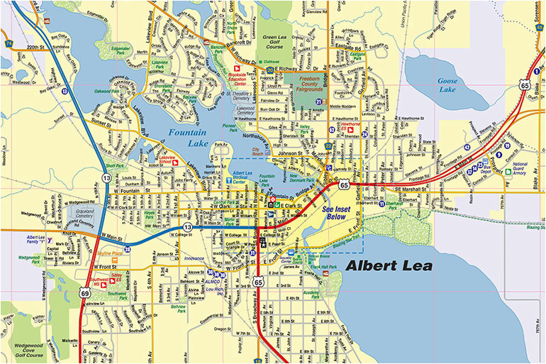 albert lea mn map interactive map town square publications