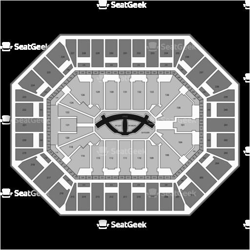 minnesota timberwolves seating chart map seatgeek
