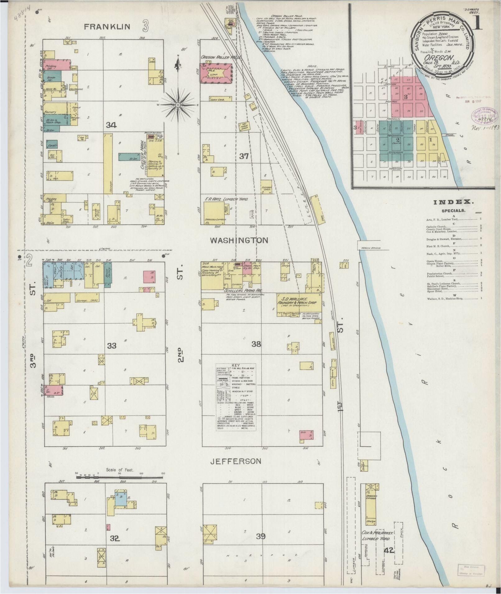sanborn maps oregon library of congress