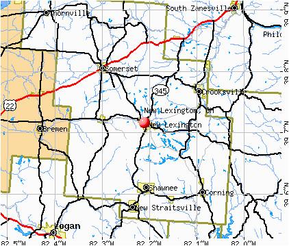 new lexington ohio oh 43764 profile population maps real