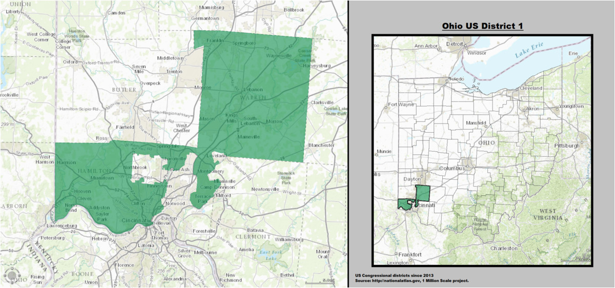 ohio s 1st congressional district wikivividly
