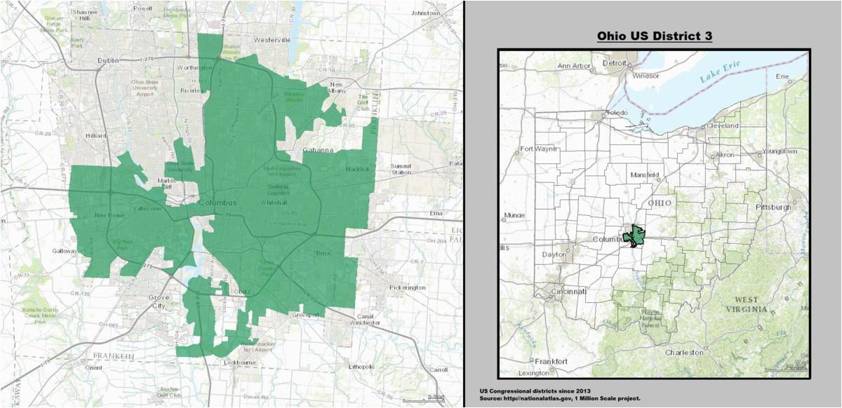 ohio s 3rd congressional district wikipedia