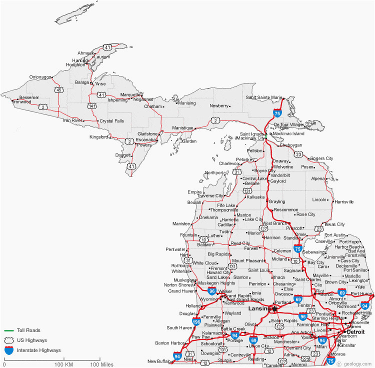 state of ohio county map map of michigan cities michigan road map