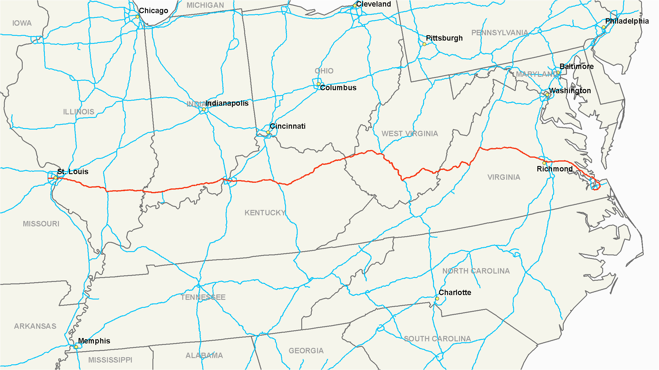 interstate 64 wikipedia