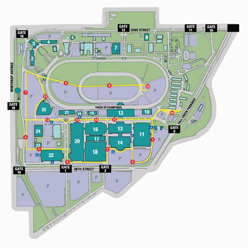 beautiful indiana state fairgrounds map ideas printable map new