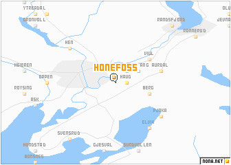 milan ohio map map od honefoss travel maps and major tourist