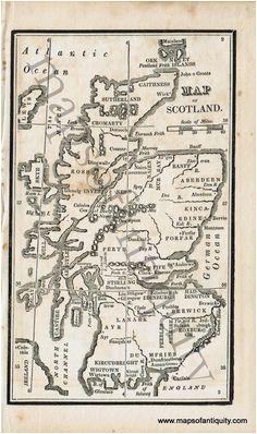 47 best antique maps prints of scotland images antique maps old