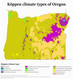 climate of oregon revolvy