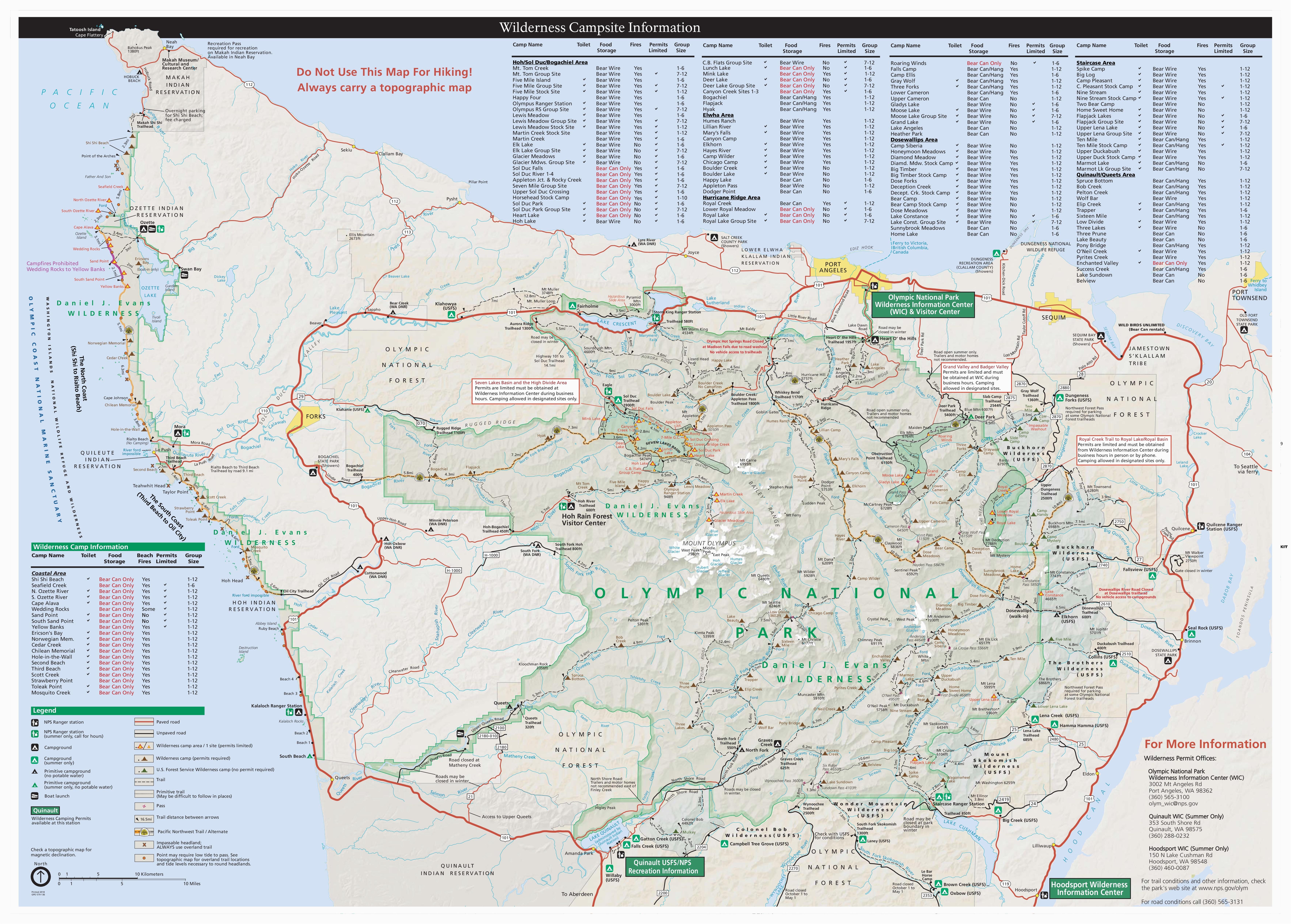 Oregon Ridge Park Trail Map Maps Olympic National Park U S ...