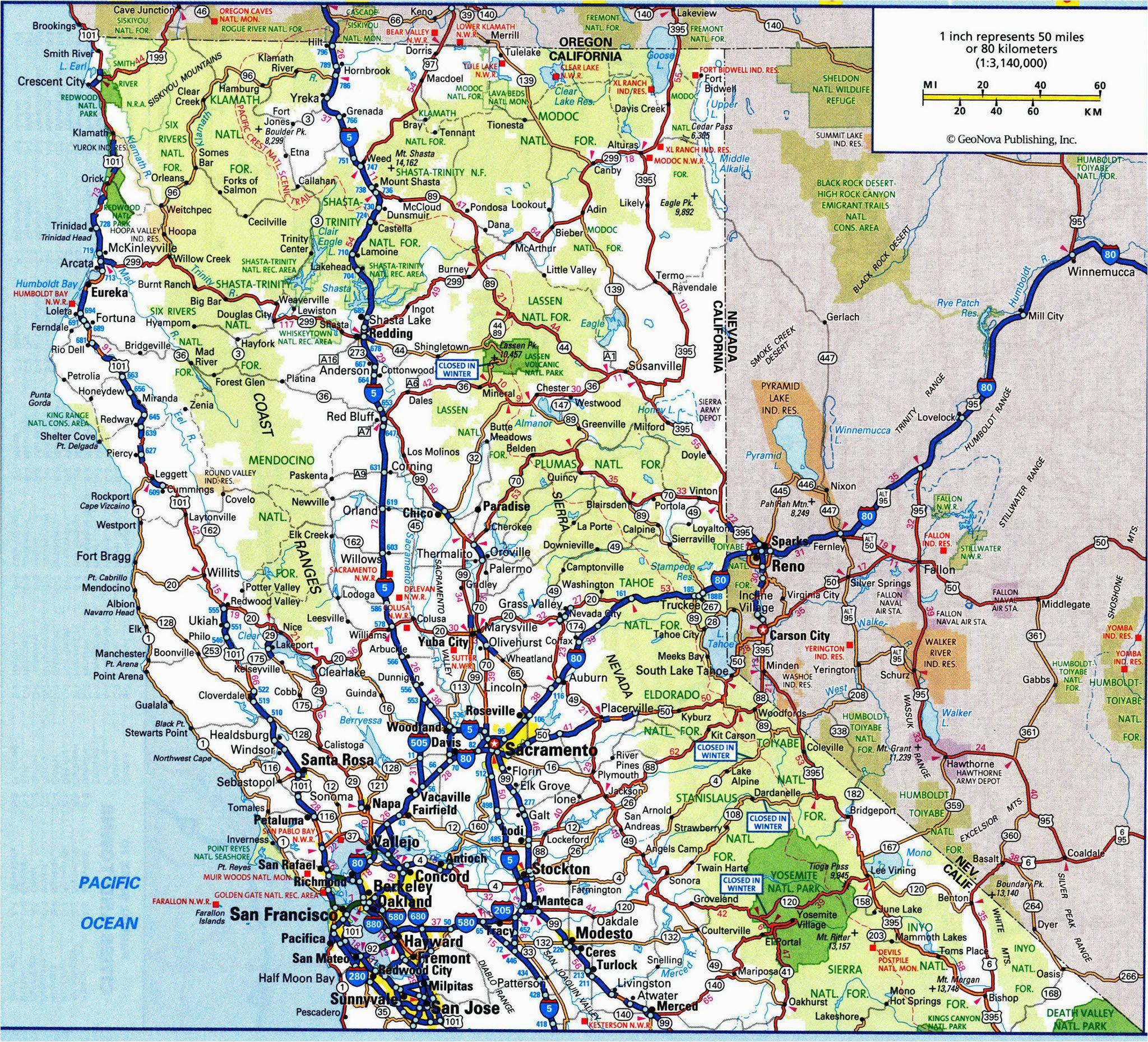 Oregon Road Map Pdf Road Map Of California and oregon New Us atlas