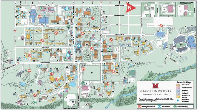 Oregon State University Campus Map Pdf Ohio State University Campus Map Pdf Oxford Campus Maps Miami