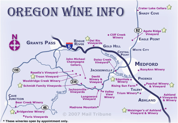 oregon wine regions map secretmuseum