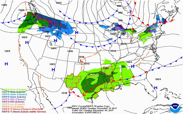 Oregon Weather forecast Map the Daily Fourcasta A Weather forecast on