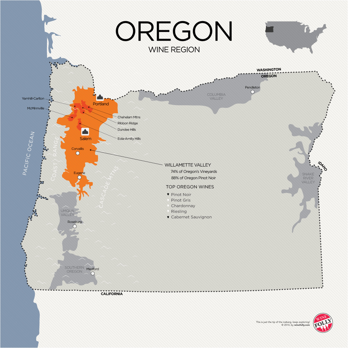 a guide to learning oregon pinot noir the big trip oregon pinot