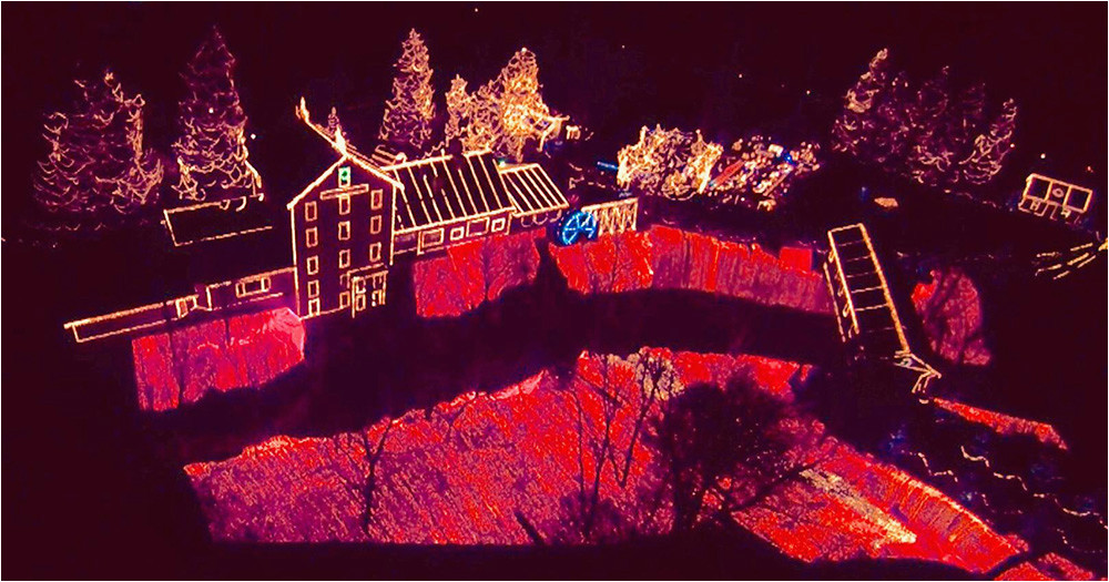clifton mill christmas lights 2018