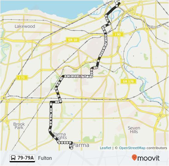 where is parma ohio on a map linie 79 79a fahrplane haltestelle