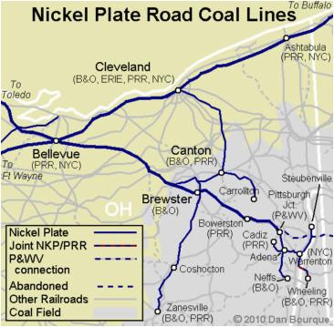 nkp nickel plate road appalachian railroad modeling