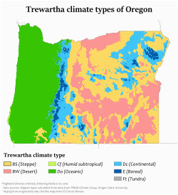 Precipitation Map oregon Climate Of oregon Revolvy
