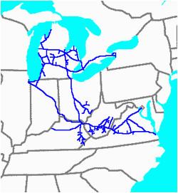 chesapeake and ohio railway wikivisually