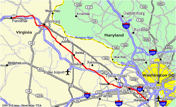 ohio rails to trails map washington old dominion trail d c rail