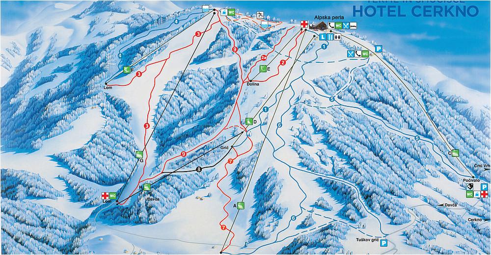 bergfex ski resort cerkno skiing holiday cerkno winter resort