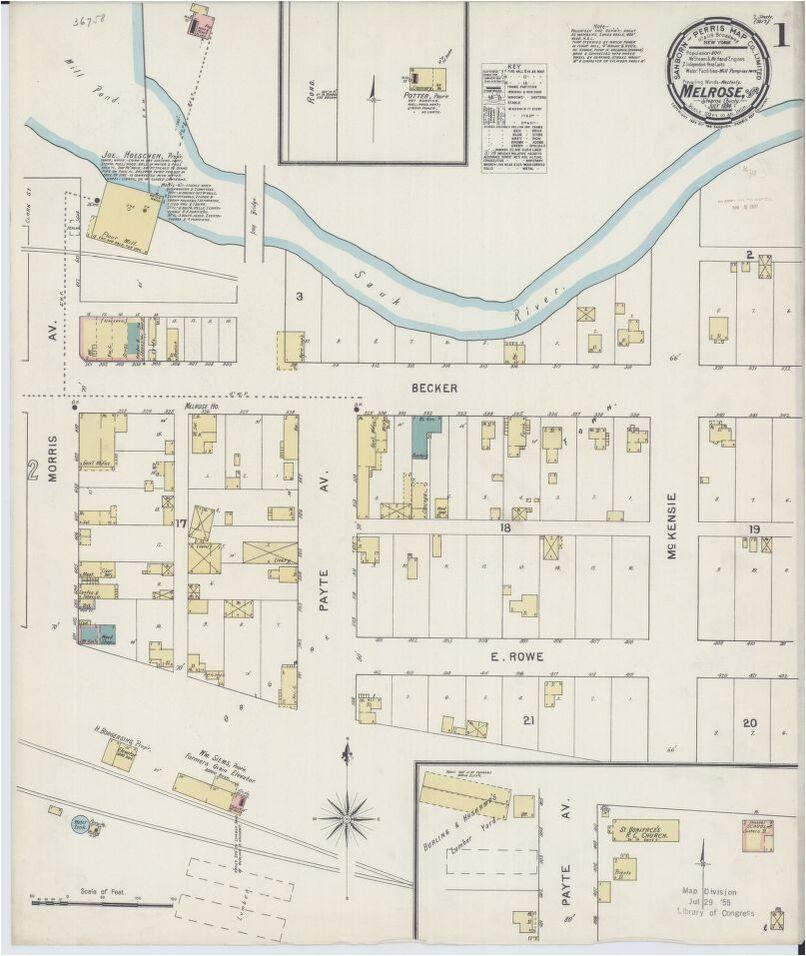 map minnesota image library of congress