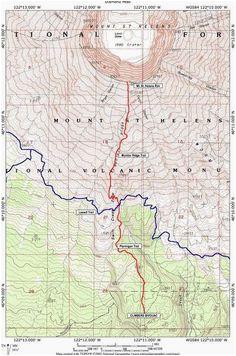 map of st helens oregon secretmuseum