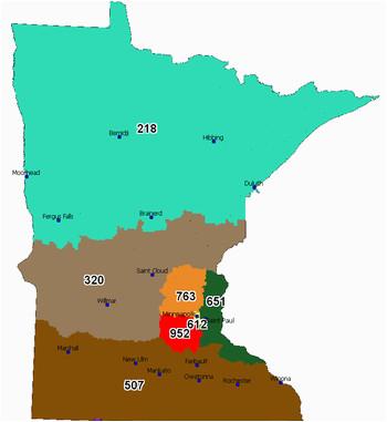 St Paul Minnesota Zip Code Map area Code 952 Wikipedia