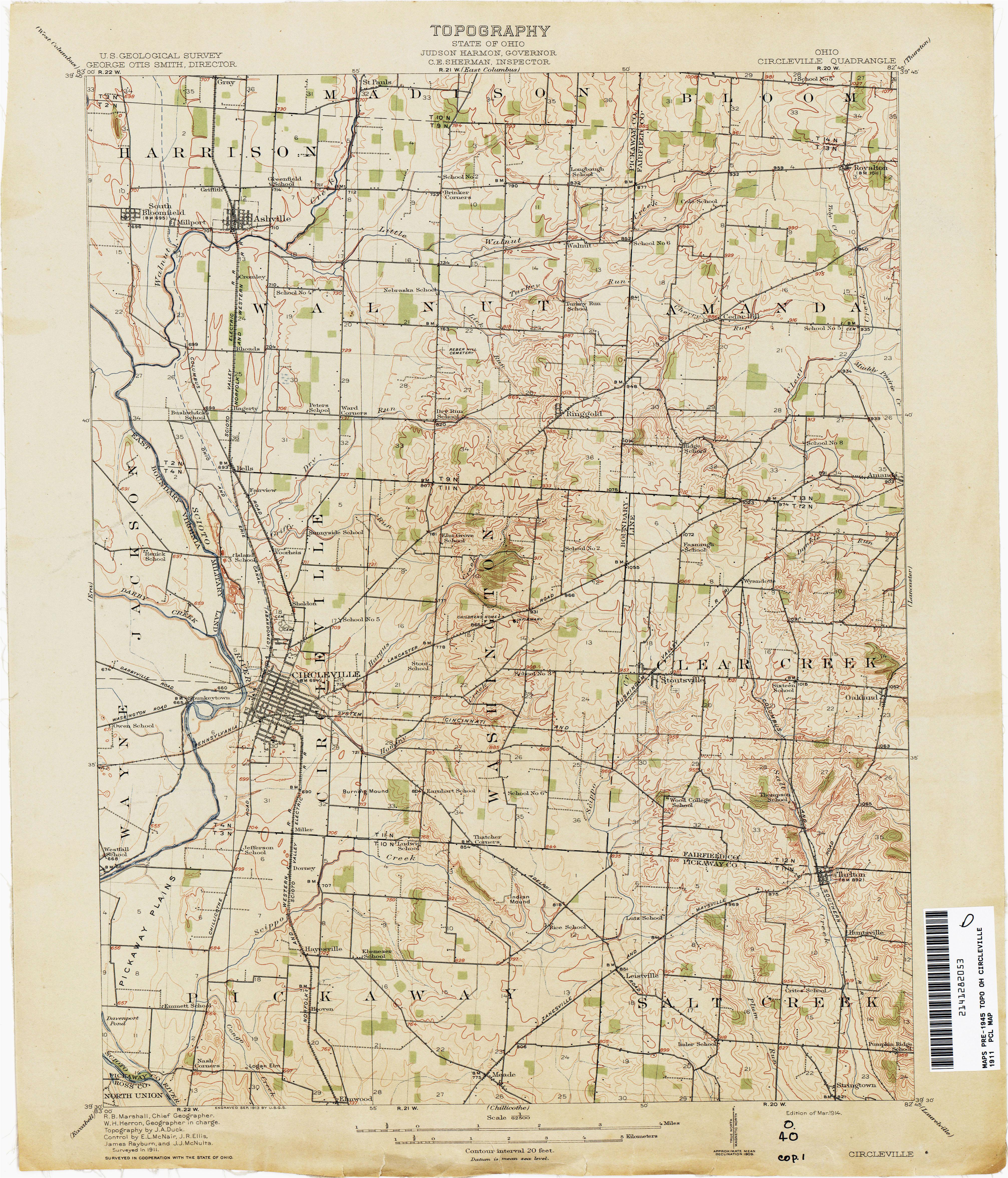 map of stark county ohio ohio historical topographic maps perry