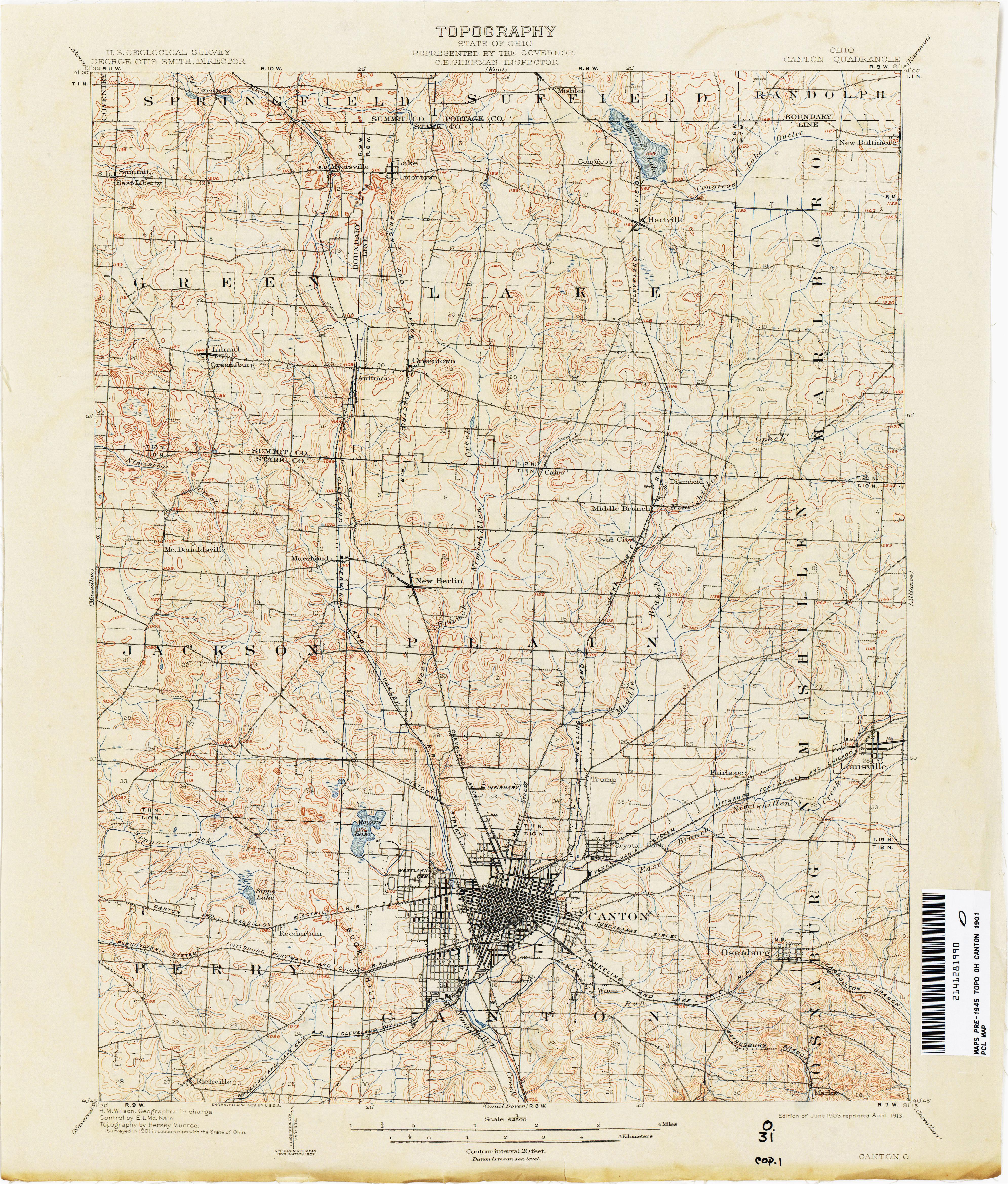 map of stark county ohio secretmuseum