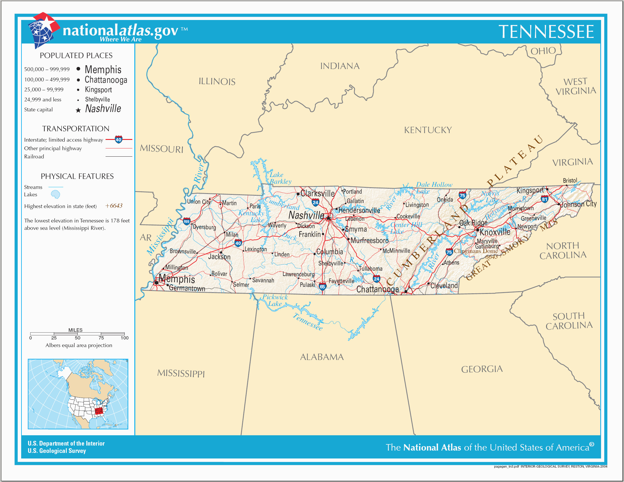 Tennessee Public Land Map Datei Map Of Tennessee Na Png