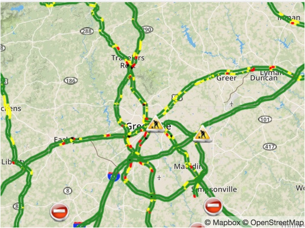 Tennessee Road Conditions Map | secretmuseum