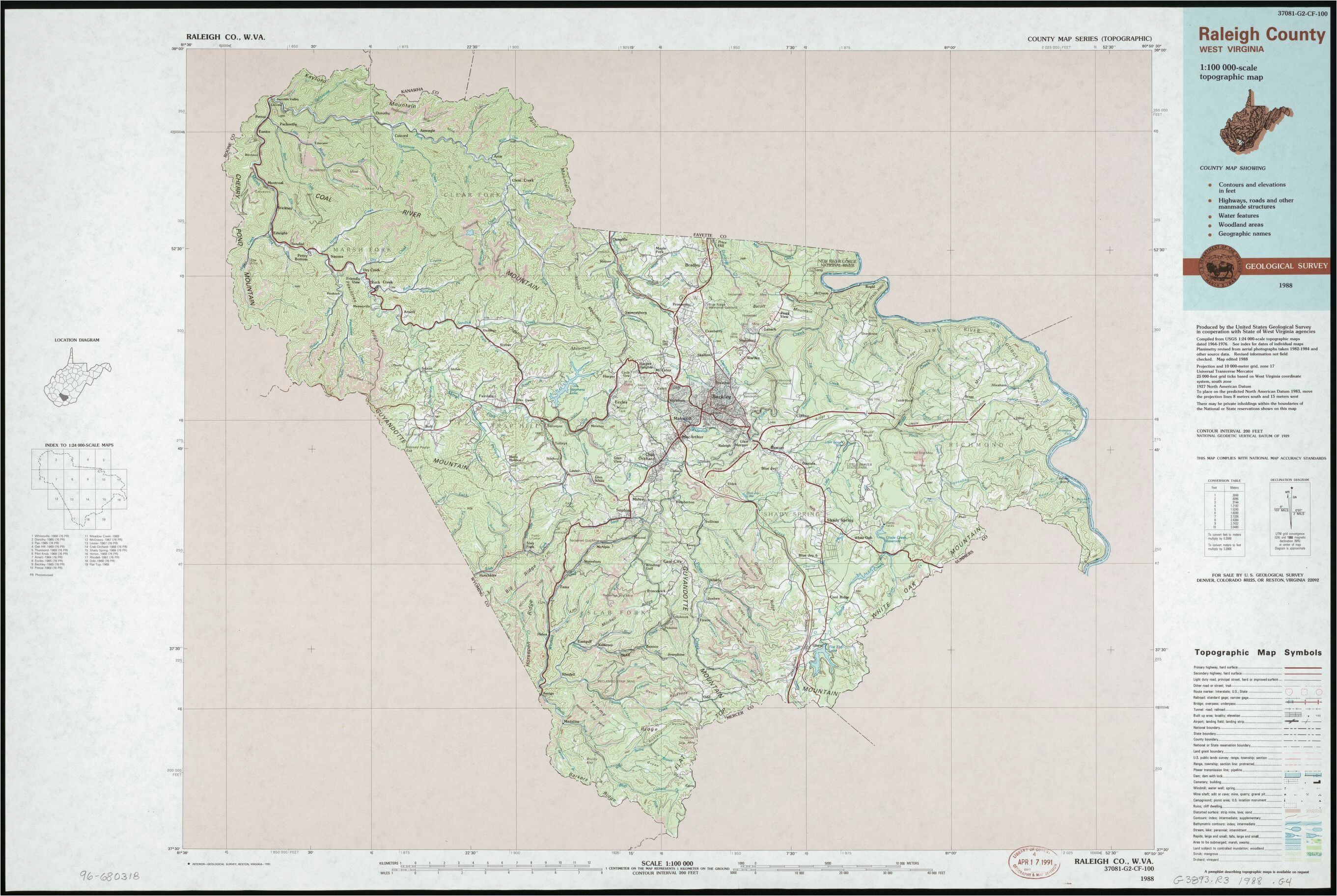 Topographic Maps Tennessee north Carolina Elevation Map Best ...