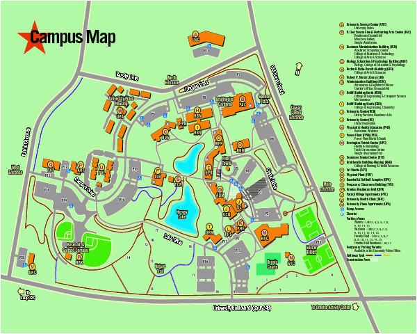 U Of oregon Campus Map Colorado School Of Mines Campus Map ...