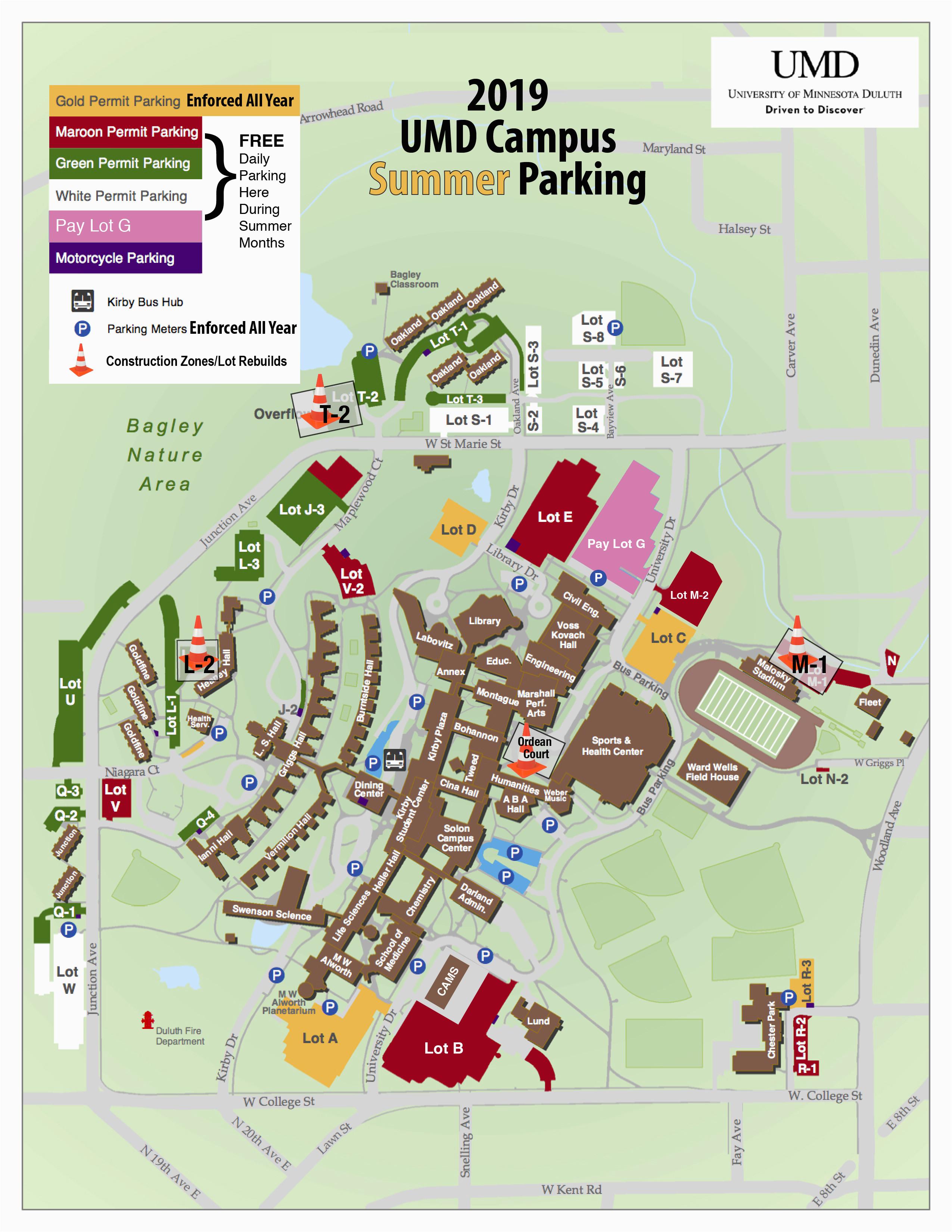 transportation parking services umd