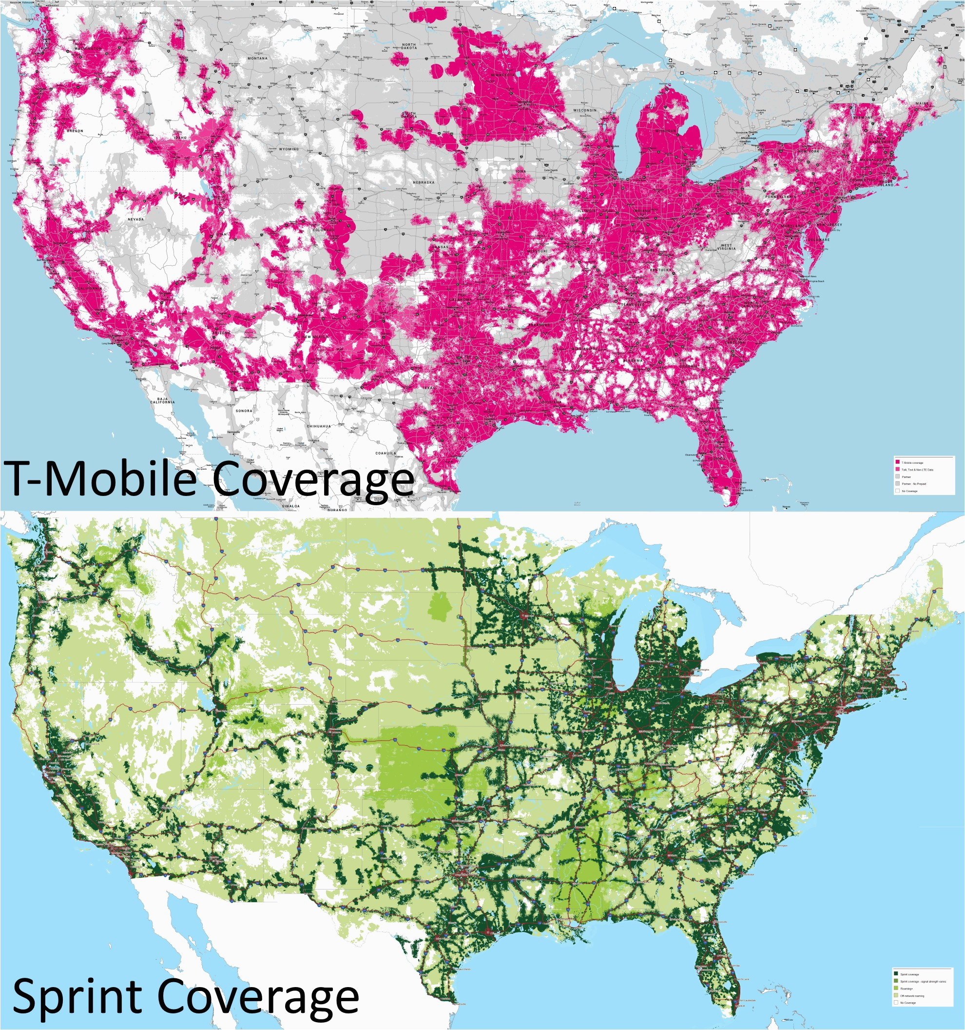 verizon vs sprint coverage map world map with country names