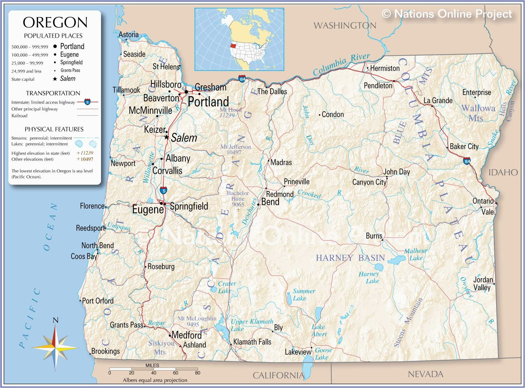 Where is Portland oregon On the Us Map Portland Map Maps ...