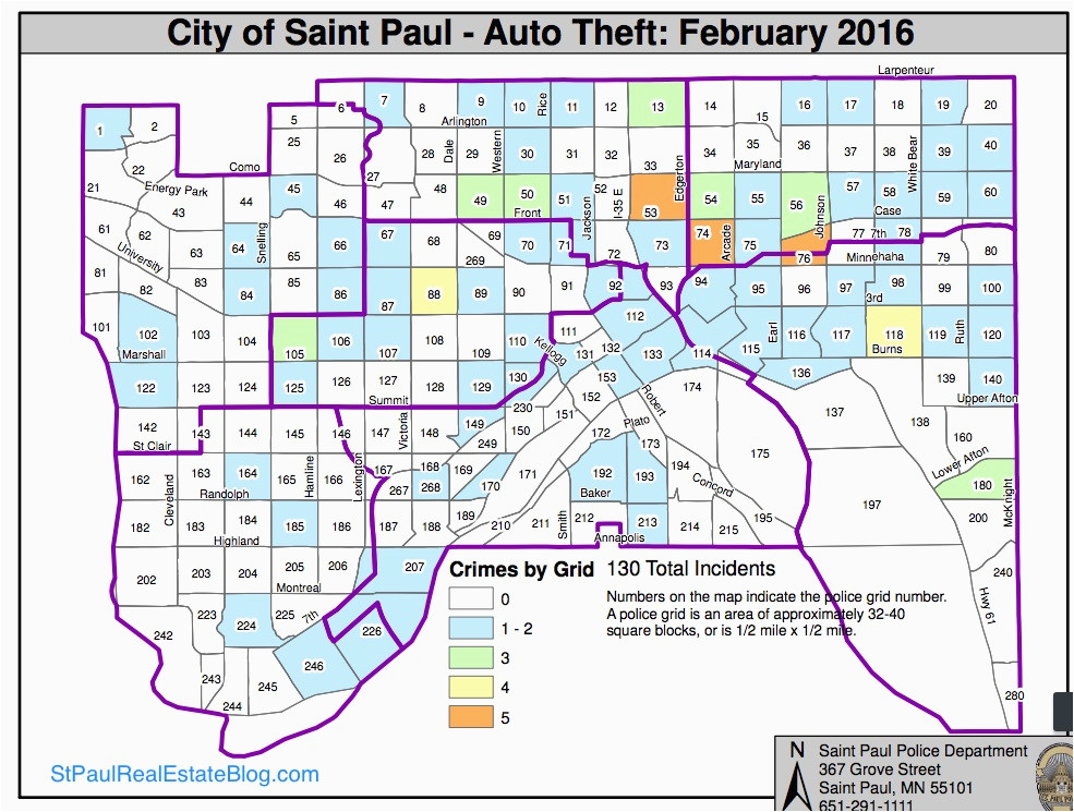 Minneapolis Crime Maps on