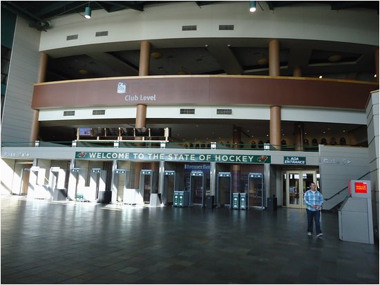 entrance to the arena picture of xcel energy center saint paul