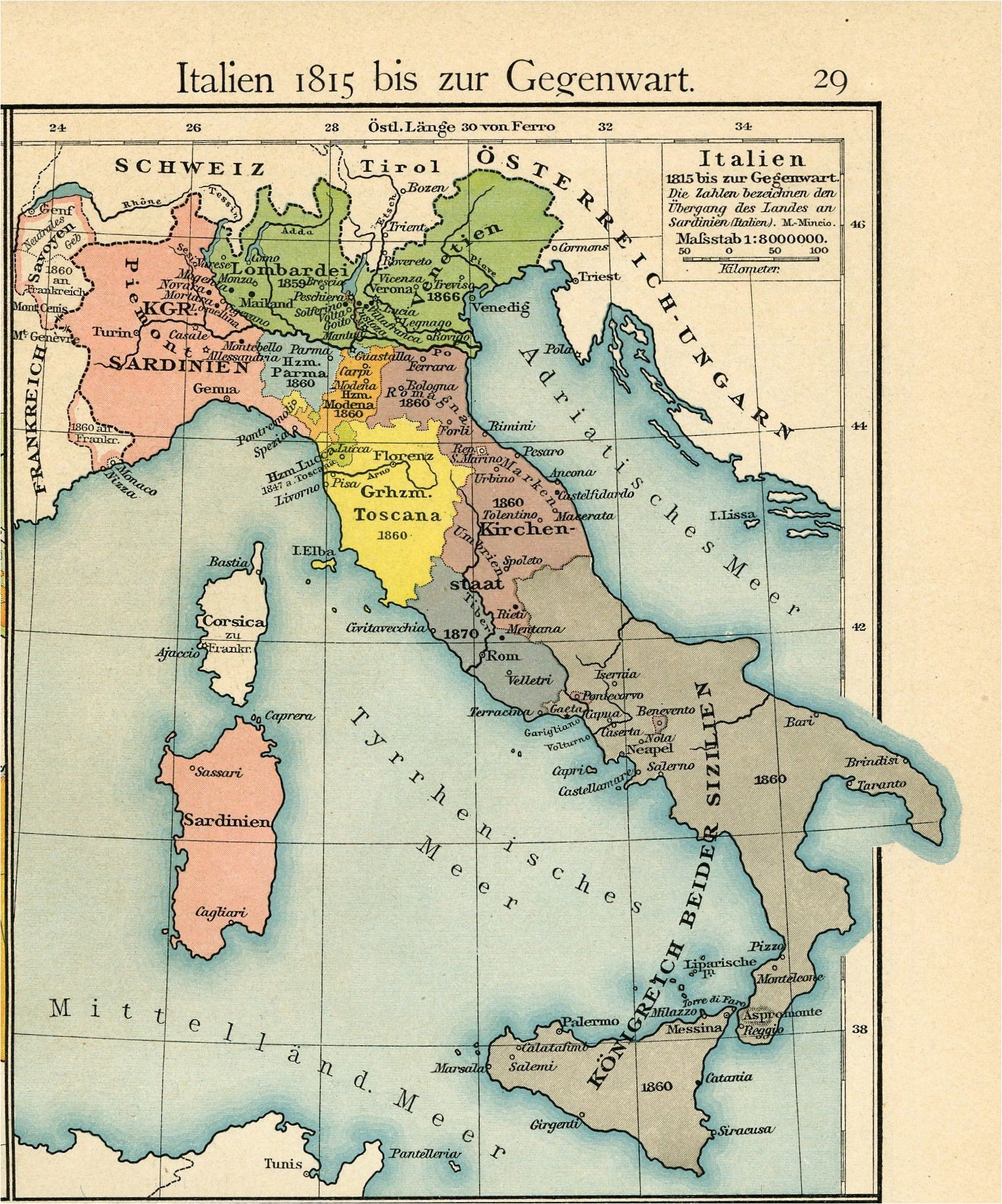 italy from 1815 to the present day 1905 by friedrich wilhelm